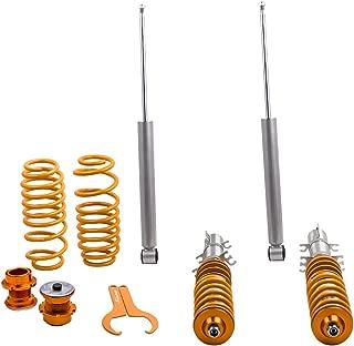 maXpeedingrods Coilovers for VW Golf MK4 1998-2003, Jetta MK4 1998-2004, Audi A3 MK1 1996-2003, New Beetle 1997-2011, Lavida 2008-present