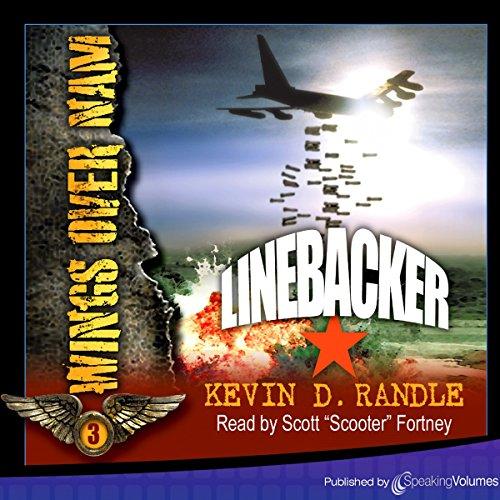 Linebacker audiobook cover art