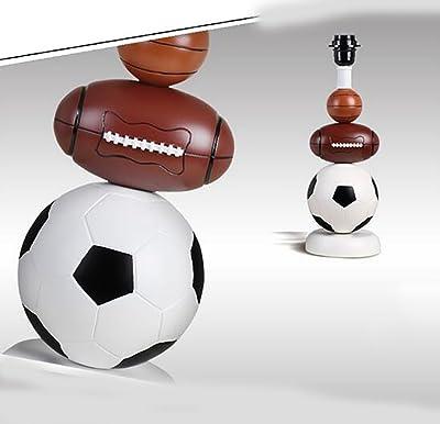 Lámparas De Mesa Lámpara De Mesa De Fútbol Creativa Baloncesto ...
