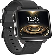 Festnight Smart Watch Health & Fitness Sports Watch 2.2inch IPS Screen Long Battery Life Android 5.1 Pedometer Heart Rate Monitor Supporting WiFi Nano SIM Card