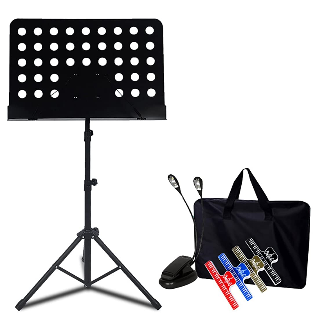 Metal Adjustable Sheet Music Stand Holder With Tripod Base - With Height & Angle Adjustment (Color : Style8) rnzg224773915101