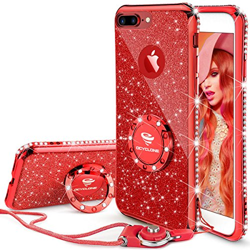 custodia iphone 7 plus rosso