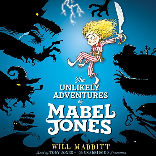 『The Unlikely Adventures of Mabel Jones』のカバーアート