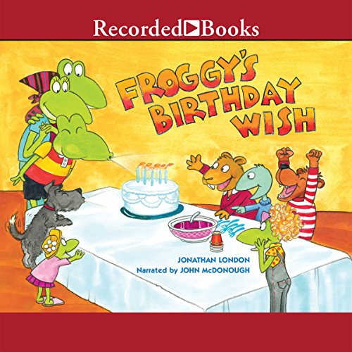Froggy's Birthday Wish audiobook cover art
