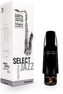 D'Addario Woodwinds Select Jazz Tenor Saxophone Mouthpiece, D7M (MKS-D7M)