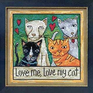 Love Me, Love My Cat - Cross Stitch Kit
