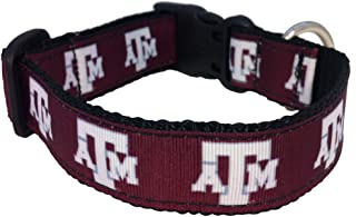 NCAA Texas A&M Aggies Dog Collar (Team Color, Large)