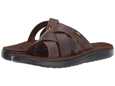 Teva Voya Slide Leather (Carafe) Men