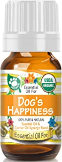 Essential Oil for Keep Your Dog Happy (USDA Organic - 100% Pure) Unique Blend of Essential Oils Recomended by Aromatherapi...