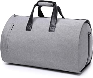 Business Travel Bag Portable Suit Storage Bag Sports Gym Bag with Shoes Compartment Waterproof & Durable Duffel Bag for Men and Women