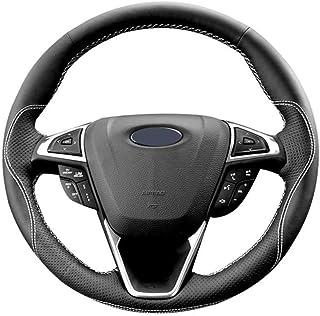 JIERS Voiture Housse pour Volant Couvre Volant pour Ford Mondeo Mk4 2007-2012 S-Max 2008