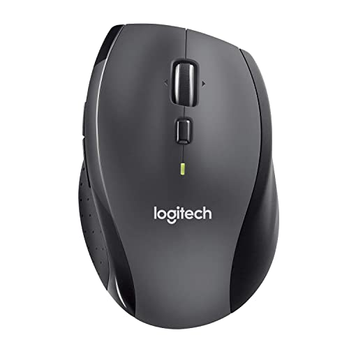 Logitech - Marathon Mouse M705 - souris sans fil USB - laser - Unifiying - argent