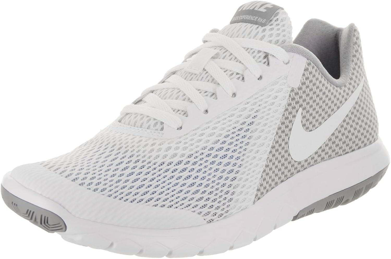 Nike Woherrar Flex Experience Experience Experience Rn 6 vit  vit Wolf grå Running skor 10 Kvinnor i USA  generell hög kvalitet