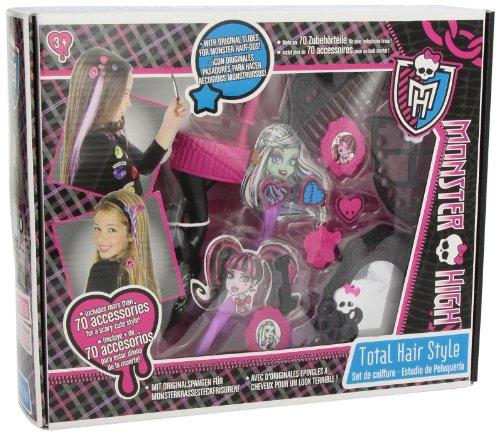 IMC Toys 87001 - Monster High Haarstudio mit viel Zubehör