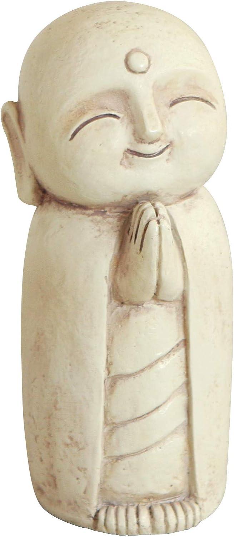 Seasonal Wrap Introduction 5 ☆ popular Buddha Groove Healing Jizo Monk Statue in Outdoor Indoor for Use