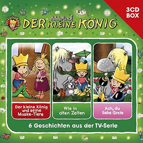 Der Kleine König-3-CD Hörspielbox Vol. 3