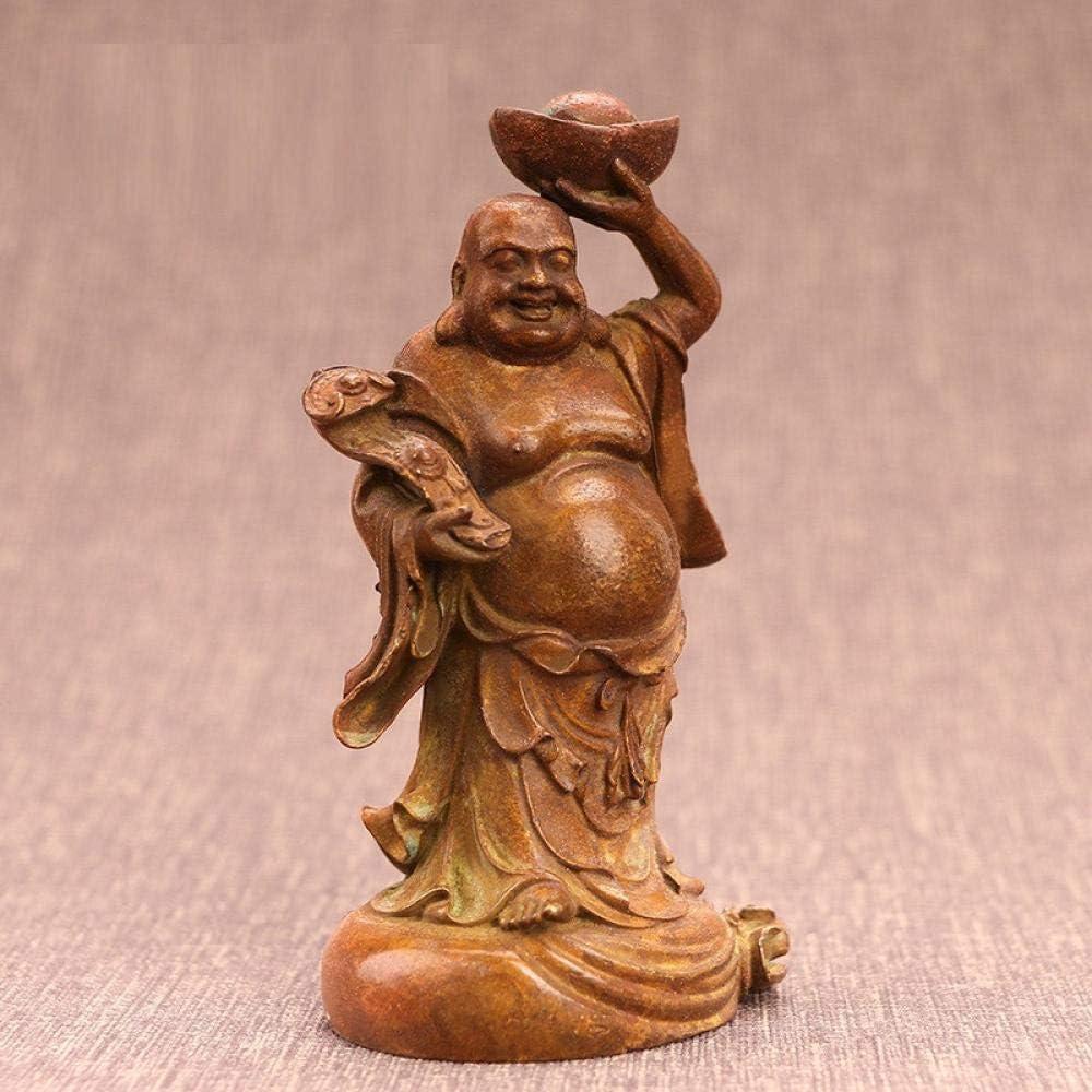 SHJDLSB Statuestatue Solid Under blast sales Austin Mall Copper Figurines Bodhidharma Master D