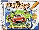 Ravensburger tiptoi Spiel 'In Deutschland unterwegs' - 00521 / Reise- und Wissensspiel mit spannenden Informationen und Bildern der schönsten Städte Deutschlands / Ab 7 Jahre