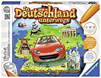 Ravensburger tiptoi Game In Deutschland unterwegs-00521 /ドイツの最も美しい都市のエキサイティングな情報と写真を含む旅行と知識のゲーム/ 7歳以上