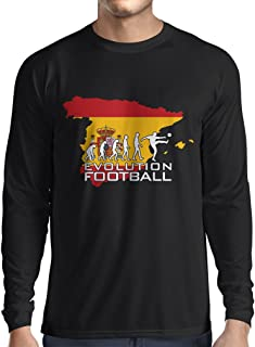 lepni.me Long Sleeve t Shirt Men Evolution Football - Spain