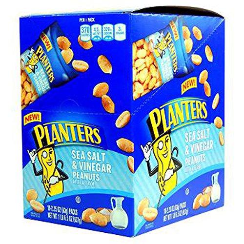 Planters Peanut Sea Salt Vinegar Max 70% OFF Count 2.25 oz 10 Nut In stock -