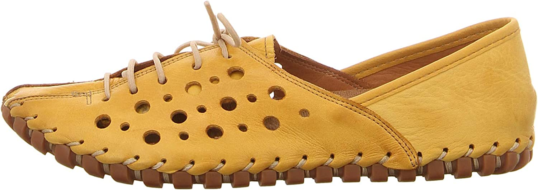31210-02-006 Gelb Gemini Femmes Chaussures Basses Gelb Jaune,