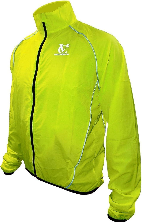 VeloChampion Element Defence Cycling Jacket (Flugold Yellow, XXL)