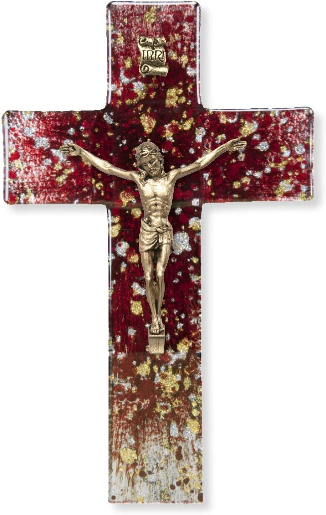 Red Speckled Gold Silver Ranking Max 45% OFF TOP19 Corpus Cro 7 Religious Inch Wall