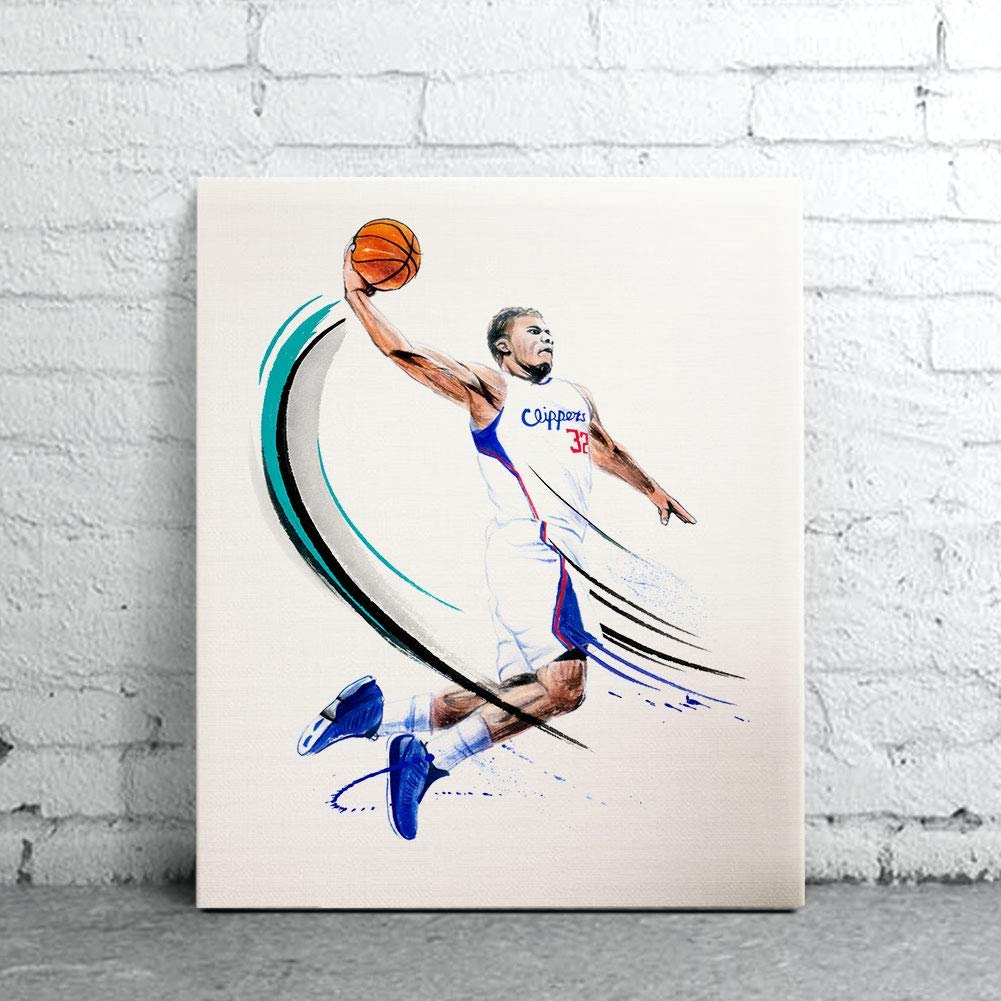 Sport Art Prints Watercolor Painting Griffin Blake Poster Las Vegas Special price Mall Man