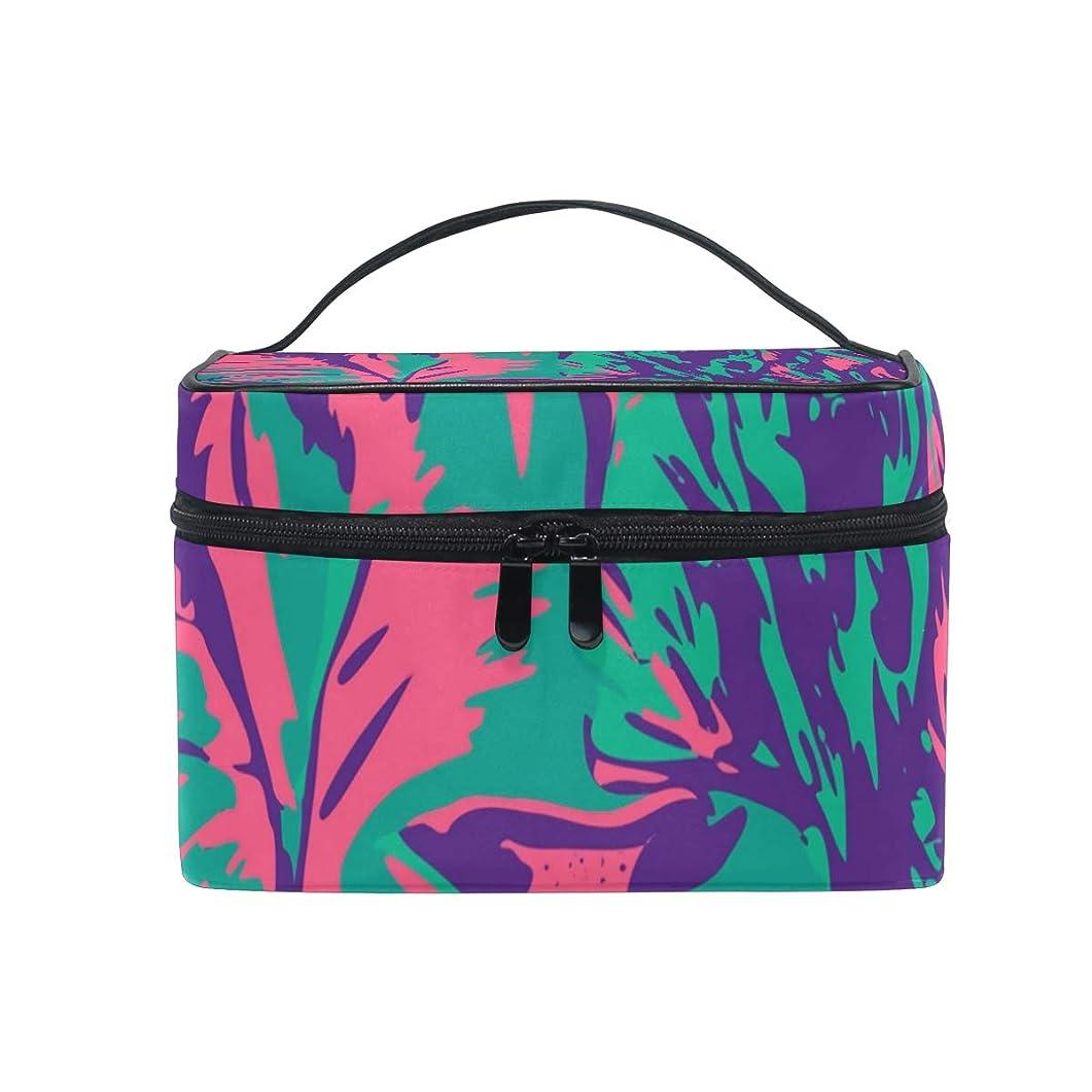 サドル気づくちらつきメイクボックス ライオン動物柄 色柄 化粧ポーチ 化粧品 化粧道具 小物入れ メイクブラシバッグ 大容量 旅行用 収納ケース