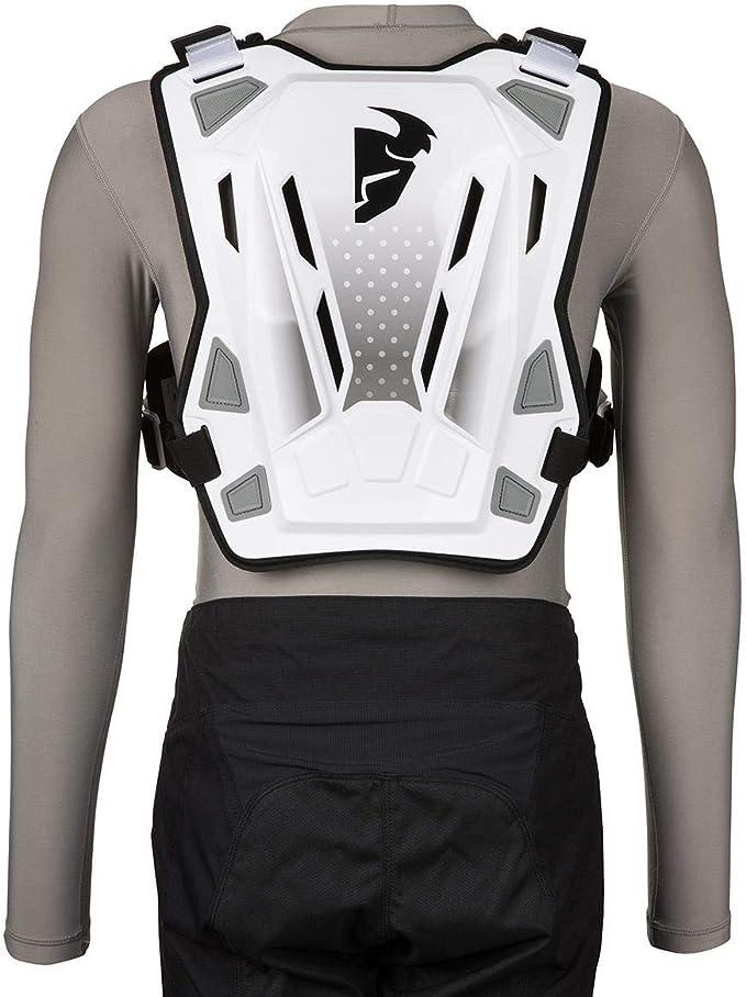 Thor Guardian Mx Chest Armour White Black Sport Freizeit