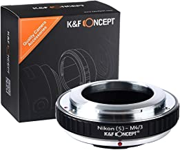 [正規代理店]K&F ニコンS-m4/3 マイクロフォーサーズ マウントアダプター レンズクロス付 ns-m43 (KFM43)