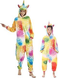 DEBAIJIA Pigiama Animali Bambini Unisex Party Sleepwear per Ragazzo Ragazza