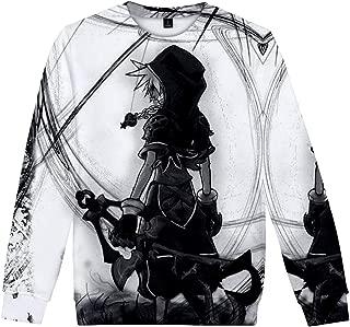 Haikyuu Manica Lunga Maglietta T-Shirt a Maniche Lunghe in Cotone con Maniche Lunghe Classiche Fashion Classic