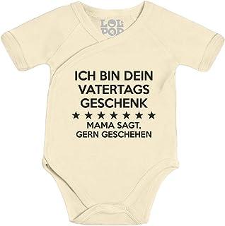 Shirtgeil Ich Bin Dein Vatertagsgeschenk Mama SAGT Gerngeschehen Wickelbody