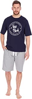 Cargo Bay Mens French Terry Shorts and T-Shirt Lounge Set