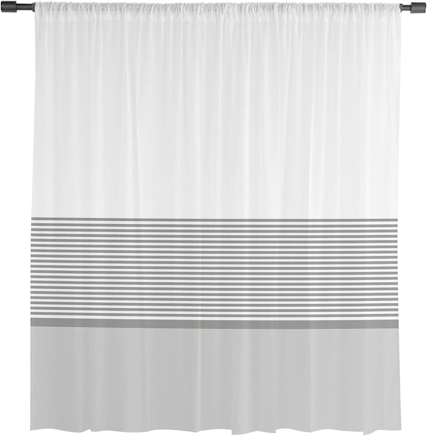 Sheer Curtain Panel 52
