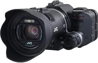 JVC GC-PX100BUS GC-PX100 Full HD Everio Camcorder, 10X Optical Zoom, 200X Digital Zoom, Black