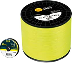 Rio Fly Line Backing, Dacron, 20 lb Test, Chartreuse – 100, 200, 250, 300, 400, 600..