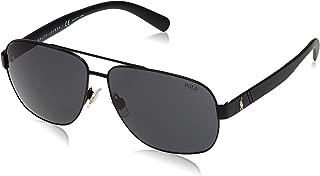 Men's PH3110 Aviator Metal Sunglasses