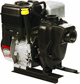 "Banjo 200PI6PRO Cast Iron Centrifugal Pump, Gas Engine, 100 Max Head (ft), 6.5 HP, 3600 RPM , 40 psi Max Pressure, 2"" NPT"