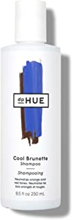 dpHUE Cool Brunette Shampoo, 8.5 oz - Blue Pigments to Neutralize Unwanted Orange, Red, Brassy Tones - Moisturizing Shampoo for Soft, Shiny Hair - Gluten-Free