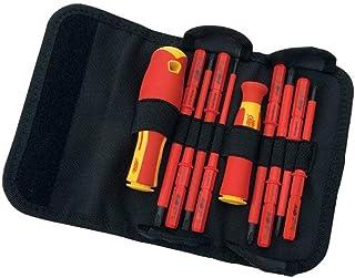 Draper 5721 VDE Interchangeable Insulated Blade Screwdrivers Set (10 Pieces)