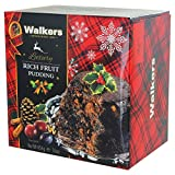 Walkers Christmas Pudding with Rich Fruit - 16oz