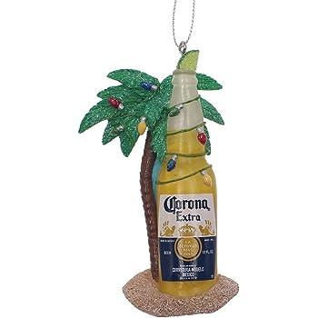 Amazon Com Kurt Adler Corona Bottle Beach Ornament 4 Inches Tall Home Kitchen