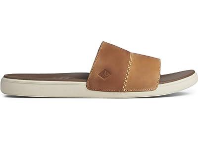 Sperry Plushwave Dock Leather Slide