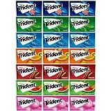 Trident Sugar Free Gum Variety Pack, 21 Packs (294 Pieces Total)