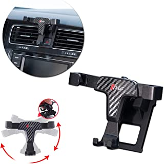 GTINTHEBOX Smartphone Cell Phone Mount Holder with Adjustable Air Vent Clip Cover for 2014 2015 2016 2017 2018 Volkswagen VW Golf 7 MK7 (3.5-6.0 Inches Phone)