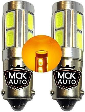 MCK Auto H21W CANBUS LED ámbar indicadores Blinkers CREE Bombillas X6 – más brillante en el