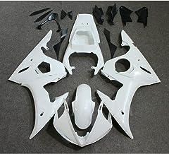 19pcs Unpainted Fairing Kit ABS Plastic Fairings for Yamaha YZF R6 2003 2004 /YZFR6S 2006 2007 2008 2009